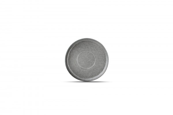 Untertasse 14 cm Element grau matt