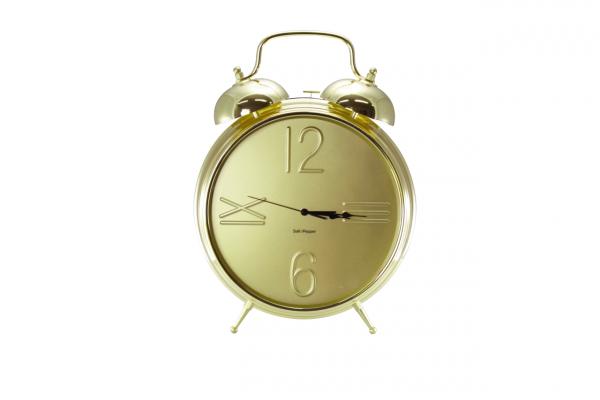 Uhr mit Alarmfunktion 36cm gold Zone