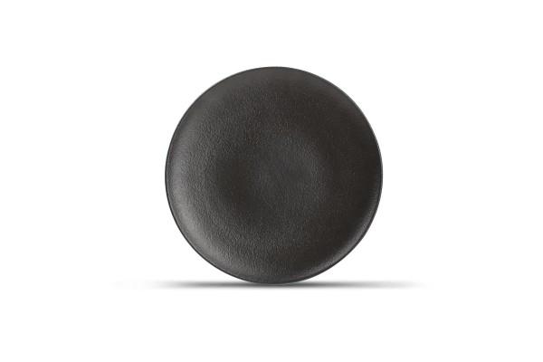 Black Dusk Teller flach rund Dessertteller 21 cm