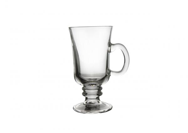 Teebecher 0.24L Latte Macchiato Glas mit Henkel