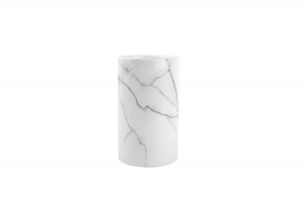 Küchenutensilien Behälter Marble weiss Marmor
