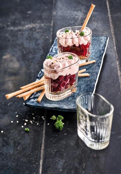 Rivera Glas Dessertschälchen 6er Set Premium Glas 110ml