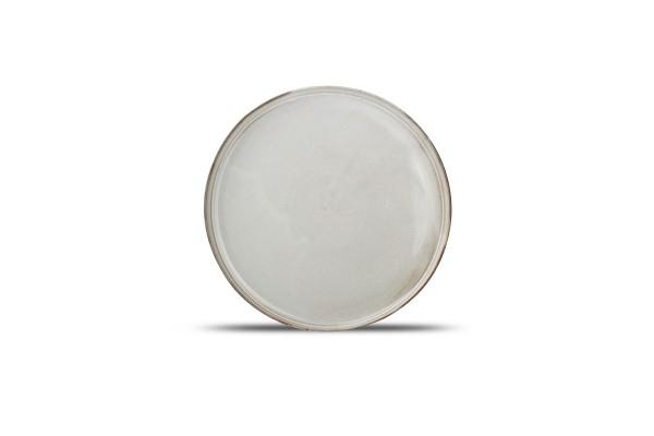 Teller flach Servierteller ceres grau 27,5 cm
