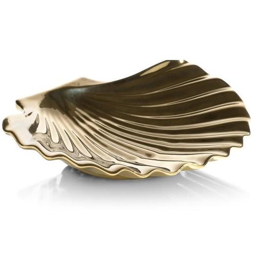 Schale Shell gold 18x16 cm