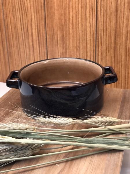 Amber Suppenschüssel mit Henkel D13XH5,5CM 45CL