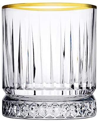 Pasabahce Elysia gold 4er Wassergläser S golden touch 210 ml