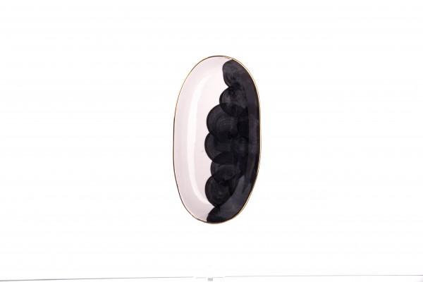 Marianna Bulut Platte klein 22 cm schwarz