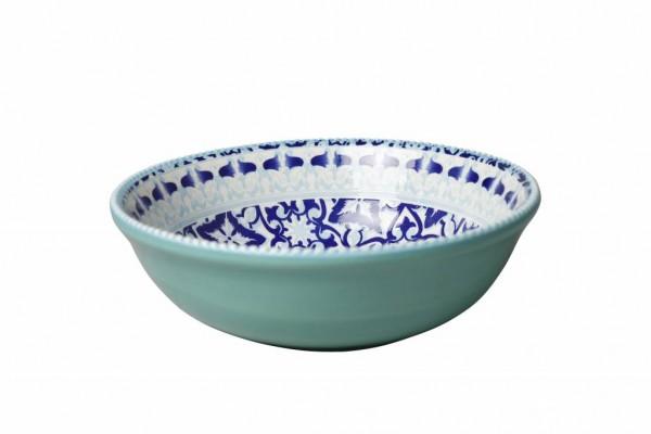 Marrakesch Blue Schüssel 21xH7,5 cm