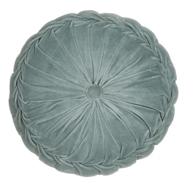 Samtkissen rund Kanan Velvet mint