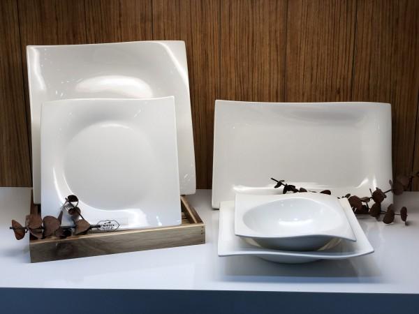 Vichy Geschirrset 25 tlg. für 6 Personen Porzellan