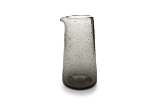 Smoked Glas Karaffe 100cl sparkle