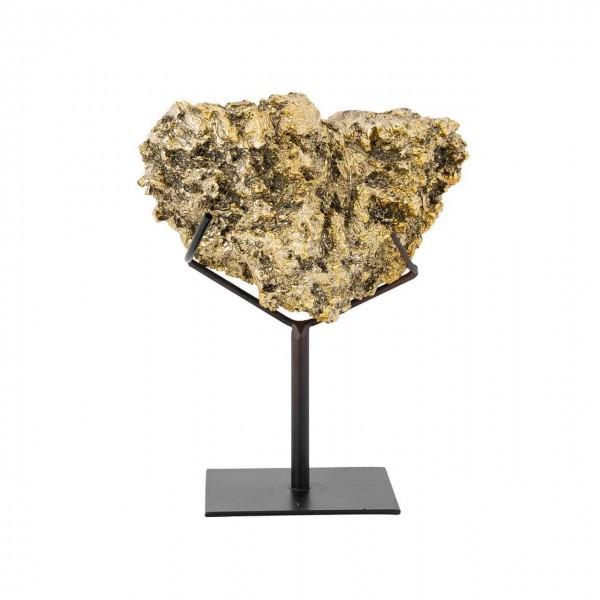 Künstliche Koralle Jazzlyn auf Fuß gold Richmond Interiors