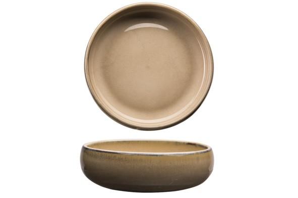 Bowl Schüssel D14.5-16,5XH5,3CM 73CL Sand Arezo