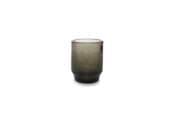 4er Gläser Set Smoked Drip khaki Trinkglas