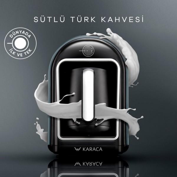 Karaca Hatir Mod Silber türkische Kaffeekocher