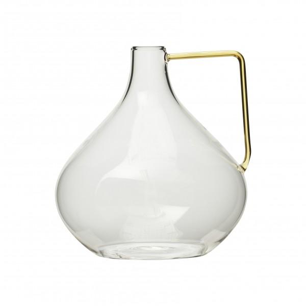 Vase aus Glas Keno 16,5x15,5 x H17 cm