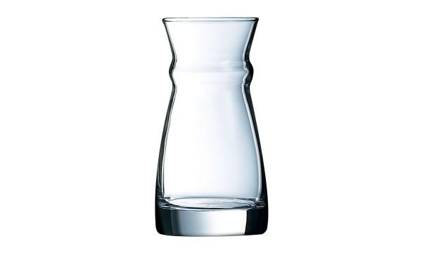 Glas Karaffe 12,5 cl Fluid