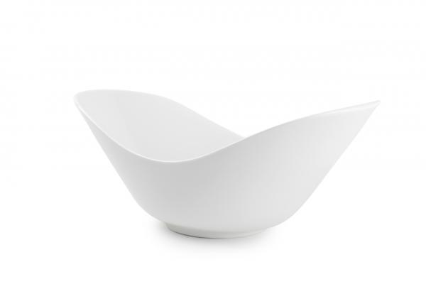 Schale oval gebogen 28X16.5XH11.5CM