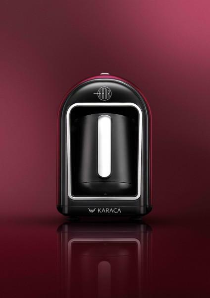 Karaca Hatir Mokka Maschine türkischer Kaffeekocher Bordeaux