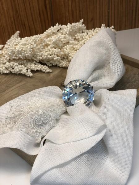 Serviettenring 6er Set Diamant