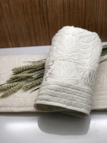 Nurpark Handtuch 100% Baumwolle creme