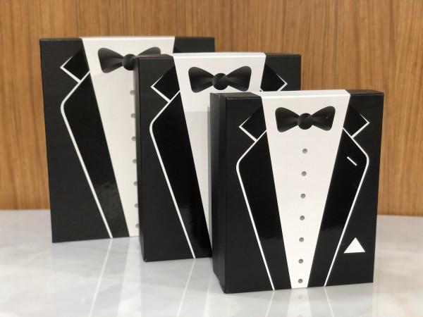 3er Bräutigam Box Wedding