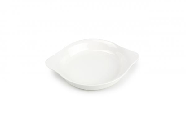 Eierpfanne rund Porzellan 12.5/16xH2.5cm