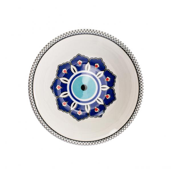 Karaca Mai Selcuk Porzellan Schälchen 15,8 cm Nazar