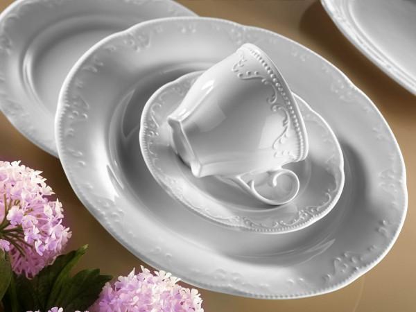 Kütahya Porselen Caprice Tafelservice 83 tlg. 12 Personen Geschirrset
