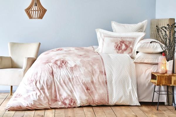 Karaca Home Alita 200x220 cm Bettwäsche rosa