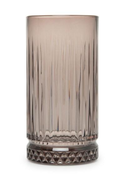 Pasabahce Elysia grau 4 er Longdrink Gläser Wassergläser grey