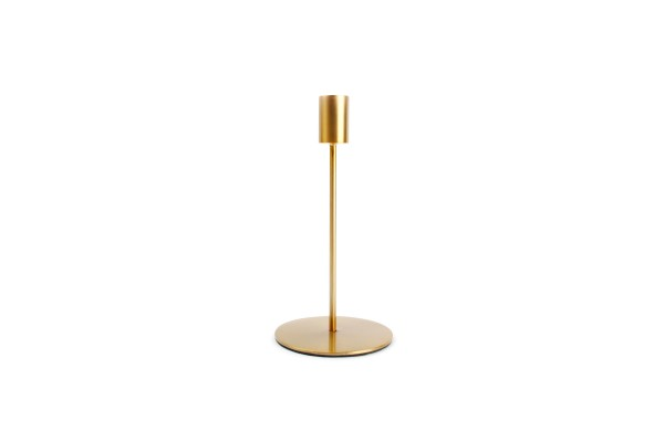 Kerzenständer pillar gold 10xH20 cm