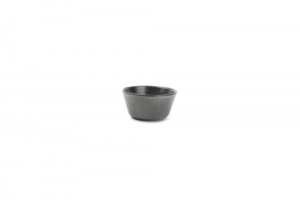 Schälchen 10xH4,5 cm Element grau matt