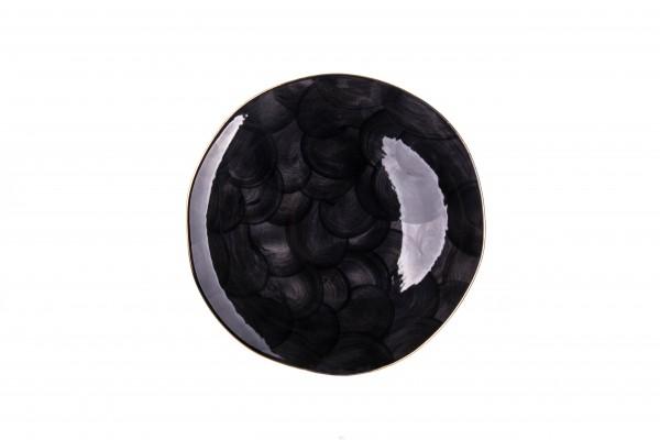Marianna Bulut Servierteller schwarz